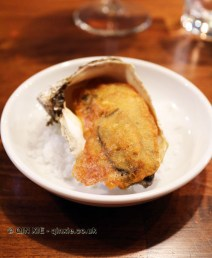 Beer-fried oysters with holy fff mayonnaise, Marks Kitchen Library at The Tramshed