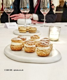 Petit fours at Helene Darroze at The Connaught