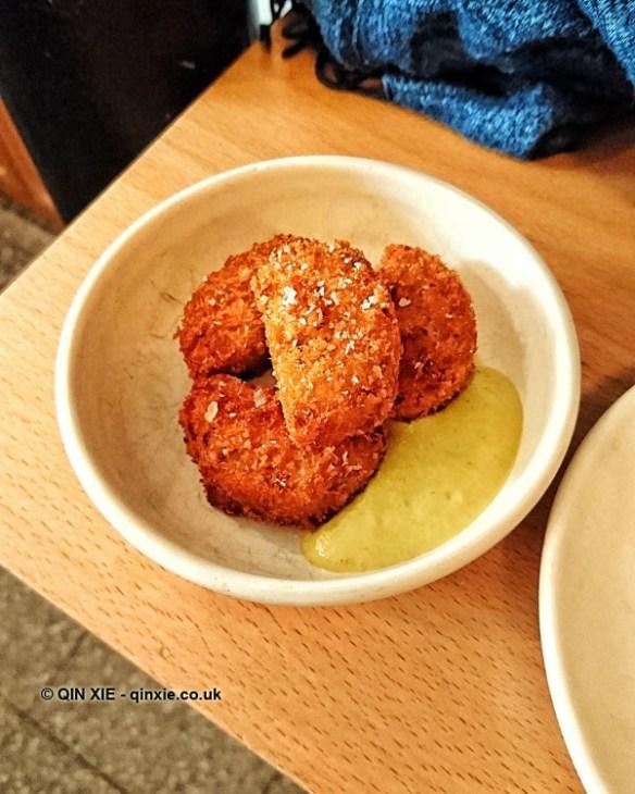 Pig's trotter croquette, Bao, London