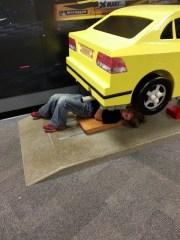 playing mechanic