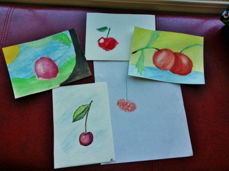 our cherry still lifes