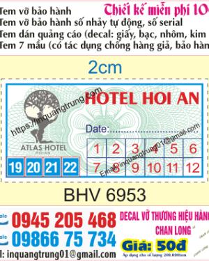 In tem vỡ tại Tuyên Quang