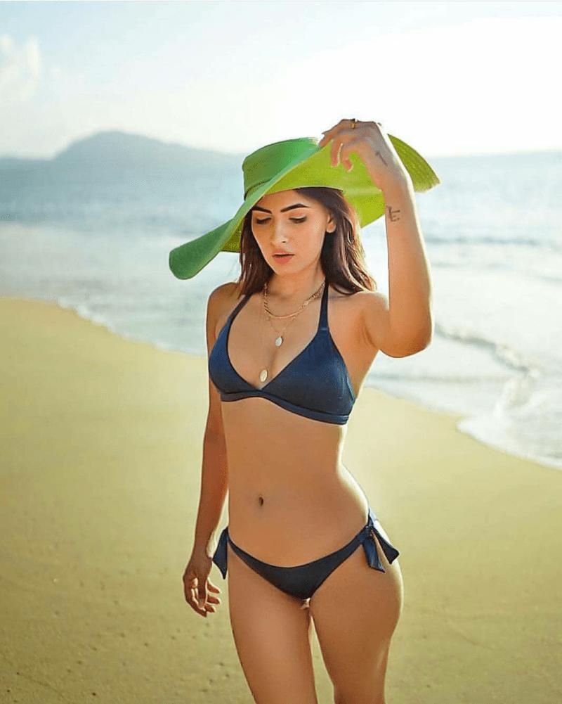 Karishma Sharma New bikini photoshoot on beach 2