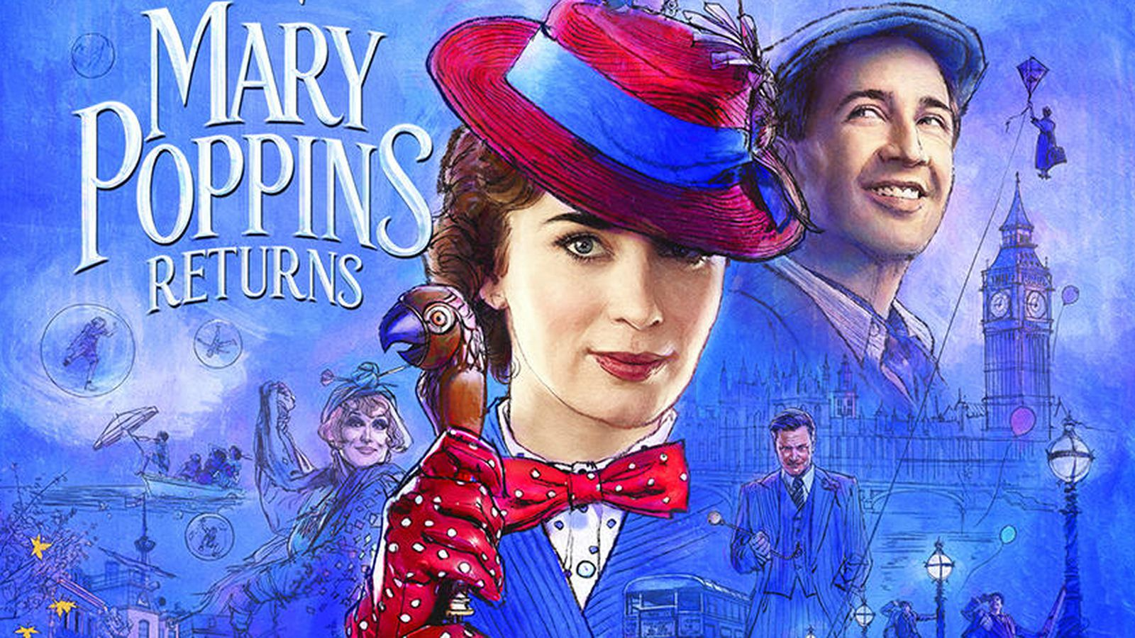 Download Mary Poppins Returns Full Movie in 480p/720p/1080p