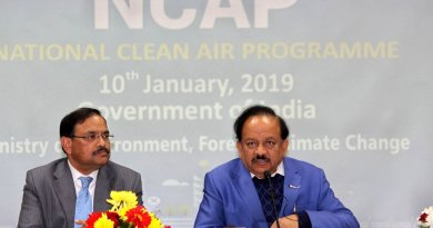 Central Government launches National Clean Air Programme (NCAP) 2