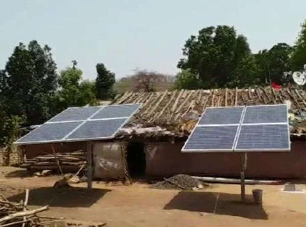Bancha in MP's is the first village Use Solar For Cooking Purpose