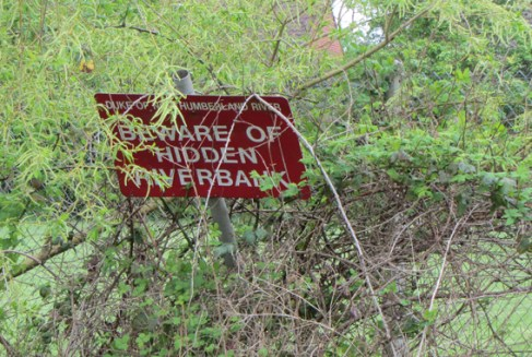 Sad signage
