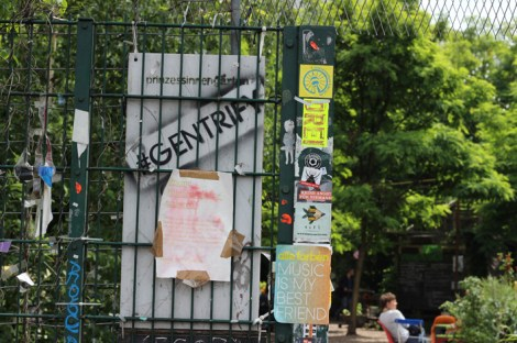 Princezzinnen Garten entrance gate