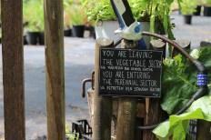 Princezzinnen Garten perennial gate