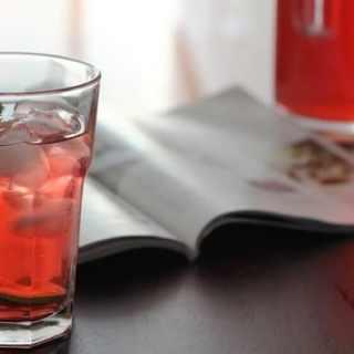 Red Zinger Iced Tea