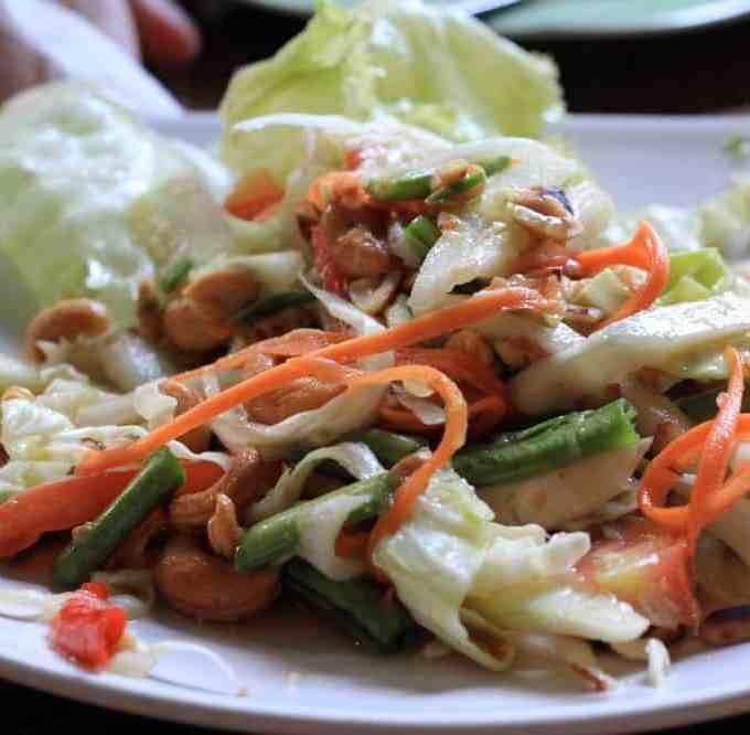 No Papaya?  An Alternative Thai Som Tum