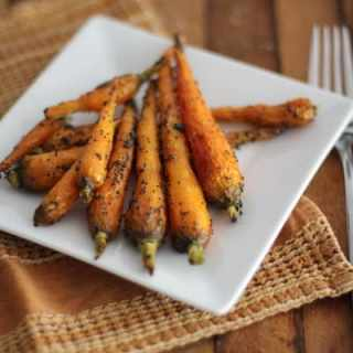 Honey-Roasted Carrots with Poppy Seeds