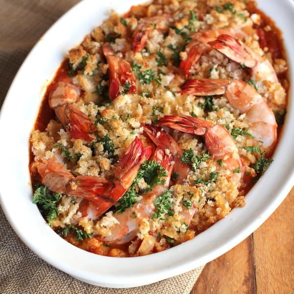 Roasted Tomatoes Ina Garten roasted shrimp with feta - inquiring chef