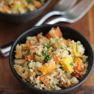 Whole Wheat Couscous with Roasted Vegetables :: Inquiring Chef