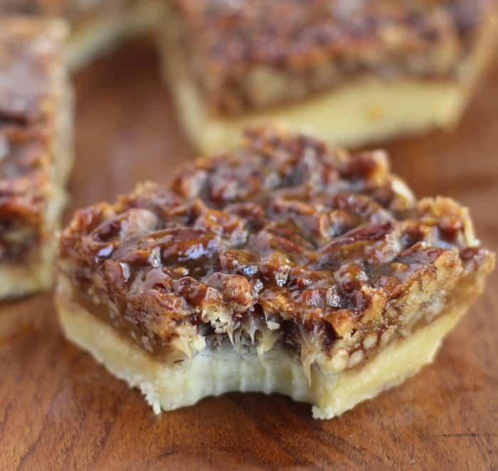Ina Garten's Pecan Squares - Inquiring Chef