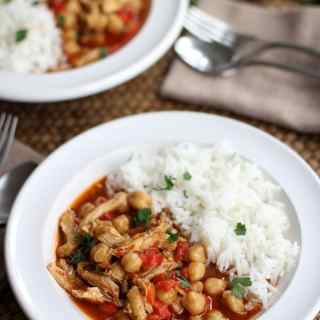 Lebanese Chickpea Stew