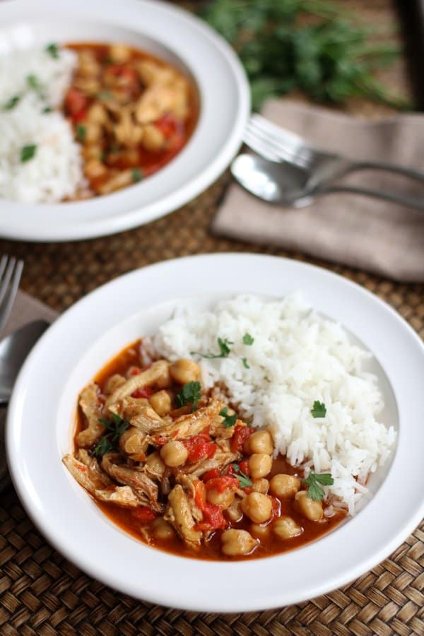 Lebanese Chickpea Stew