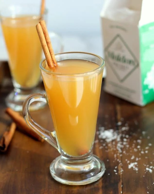 Salted Caramel Apple Cider