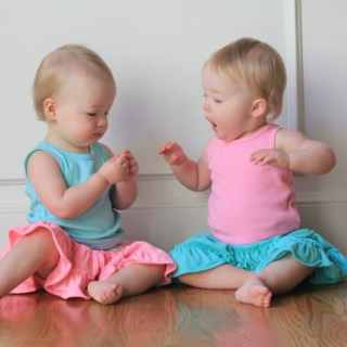 Molly and Clara – 15 Months