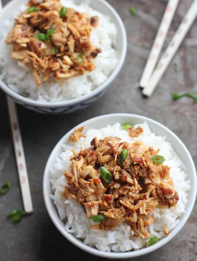Sweet Chili Chicken [Easy Slow Cooker Recipe] - Inquiring Chef