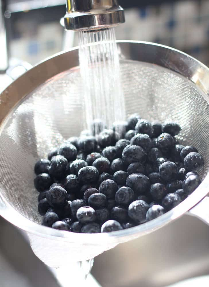 Blueberries for Whole Wheat Blueberry Pancakes