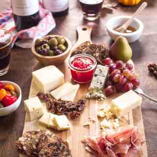 Fall Harvest Cheese Board