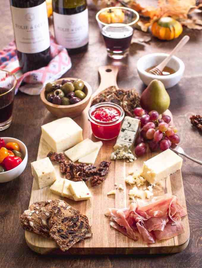 How To Create a Festive Fall Cheese Board