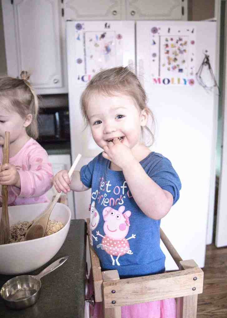 Molly and Clara_Chocolate Oat Bars