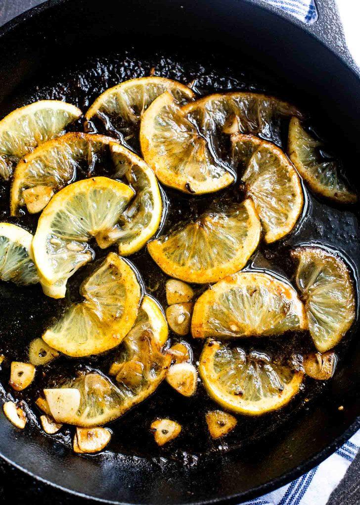 Charred Lemons