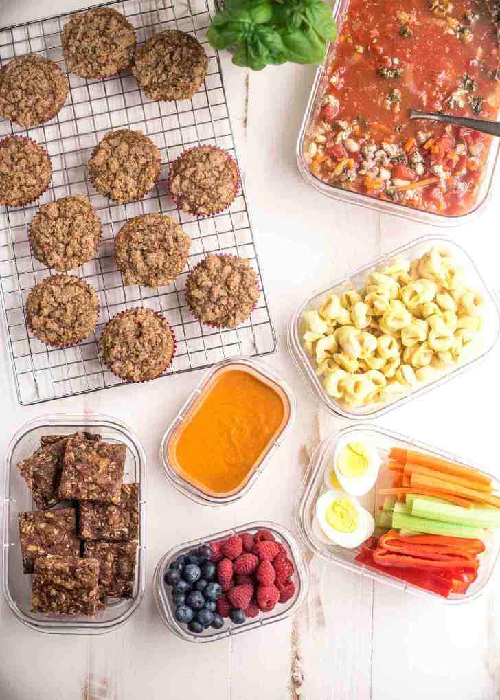 meal prep basics simple healthy meals for a busy family