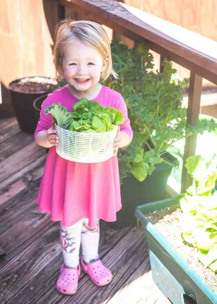 Molly Gardening