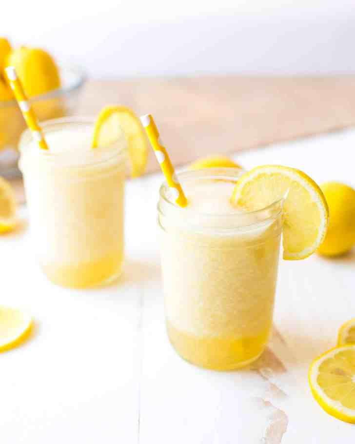 Bourbon Lemonade Slush
