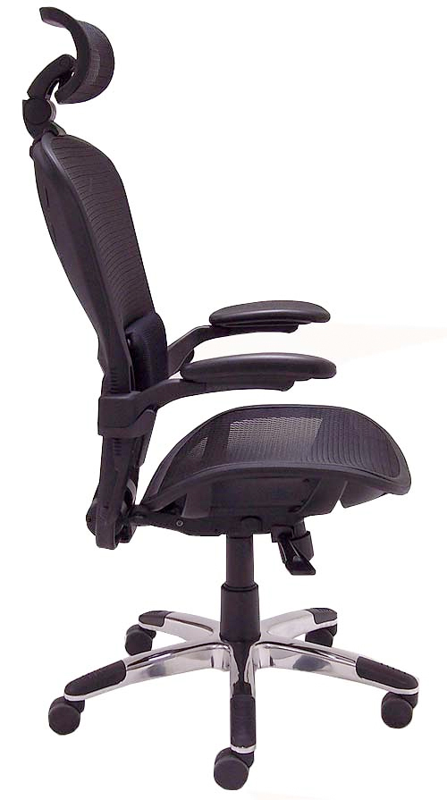 ErgoFlex Ergonomic Mesh Task Chair w Headrest  4