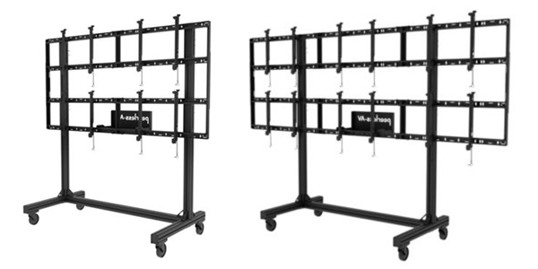 The Summit Portable Monitor Wall (PMW) by Inracks Consoles