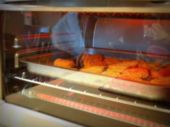 Baking Chicken Nuggets in toaster oven