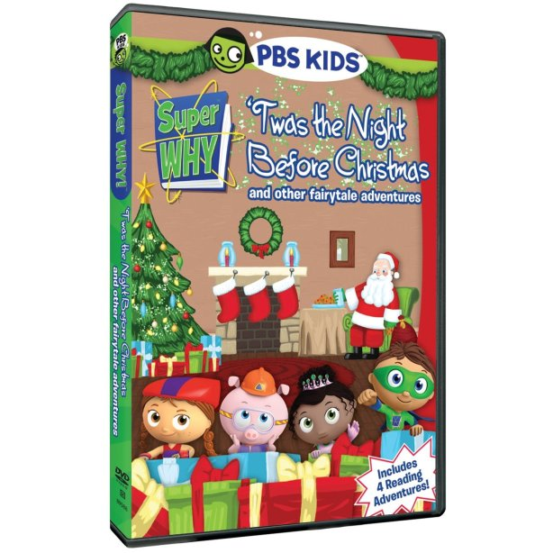 Super Why: 'Twas the Night Before Christmas and other fairytale adventures DVD