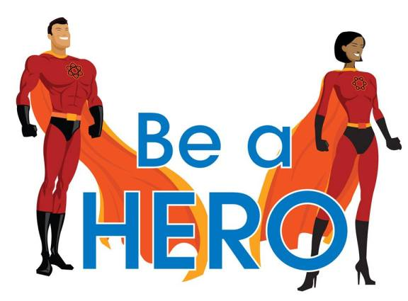 Be a Hero logo