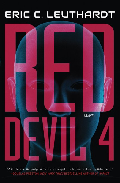 Eric Leuthardt Red Devil 4 book cover