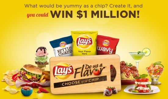 "Lay's ""Do Us A Flavor"" Contest"