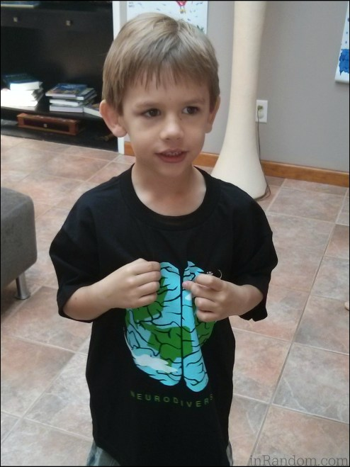 tot with neurodiversity tee