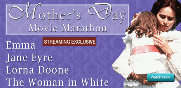 Acorn TV Mother's Day Movie Marathon