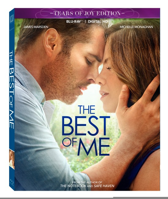"The Best of Me ""Tears of Joy"" Edition Blu-ray Combo"
