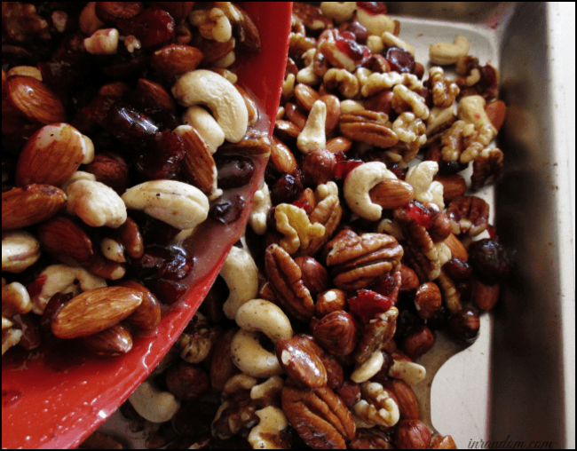 Sweet & Spicy Candied Nuts Recipe