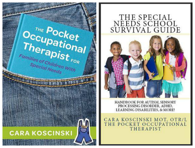 The Pocket Occupational Therapist & The Special Needs School Survival Guide by Cara Koscinski