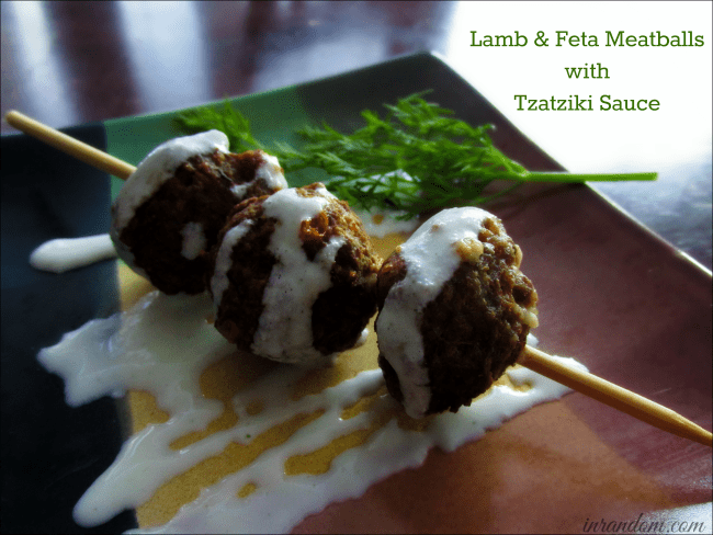 Lamb & Feta Meatballs Recipe