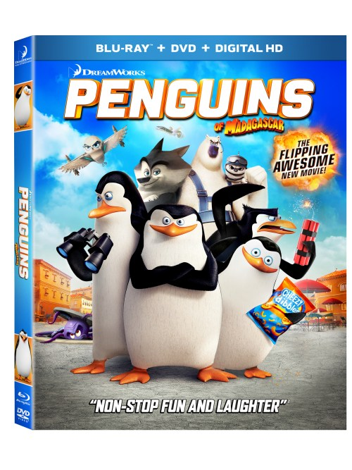 PENGUINS of MADAGASCAR Box Art