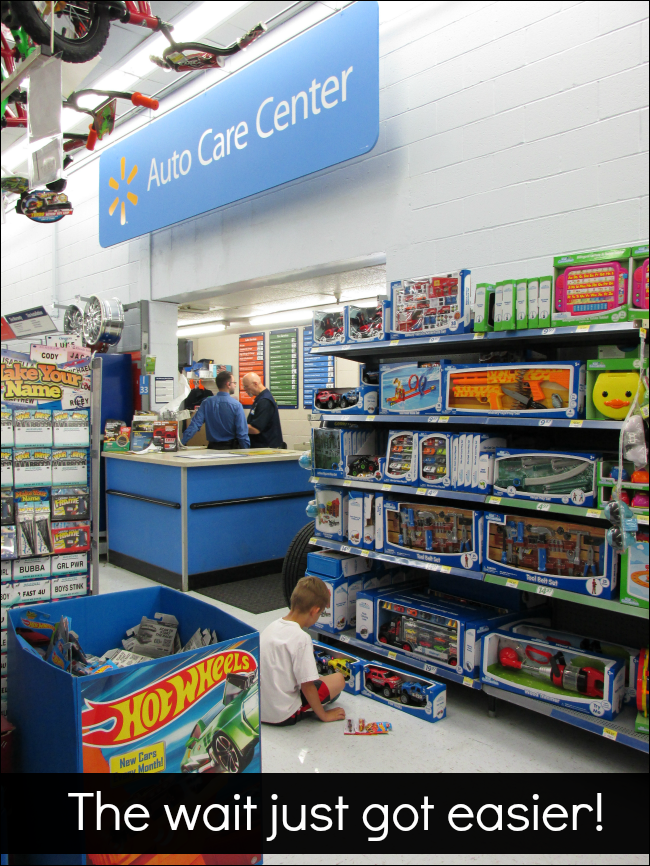Auto Care Center at Walmart
