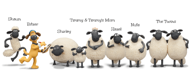 Shaun the Sheep Flock
