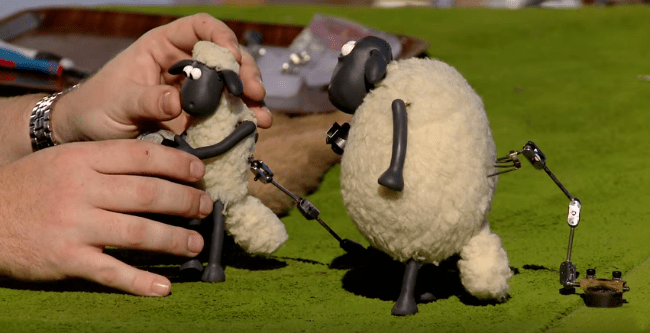 Shaun the Sheep Claymation