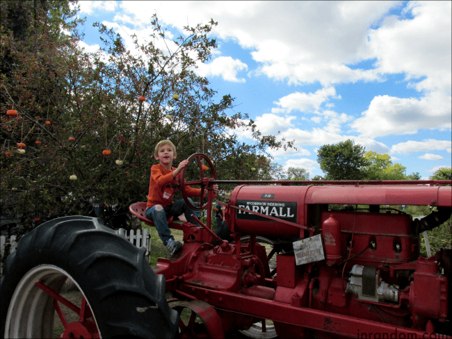 Old Tractor at Rombachs
